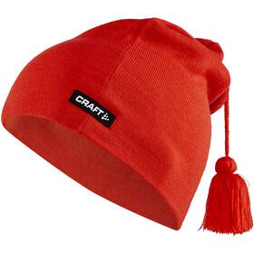 Craft Core Classic Knit Czapka, czerwony